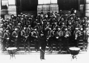 Picture musicians Sousa Band in 1893